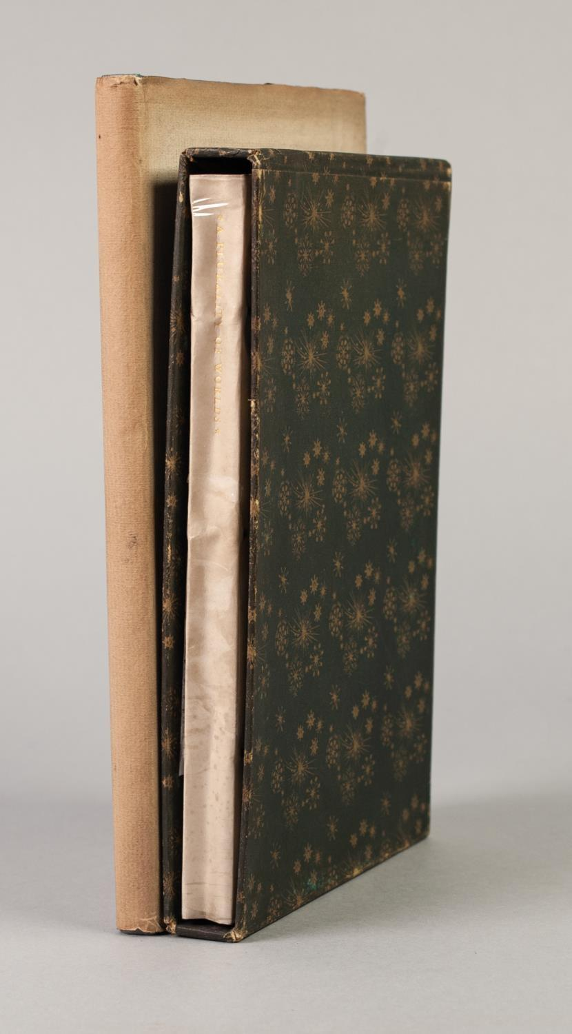 PRIVATE PRESS - TWO TITLES FROM THE NONESUCH PRESS to include The Receipt Book of Elizabeth Raper