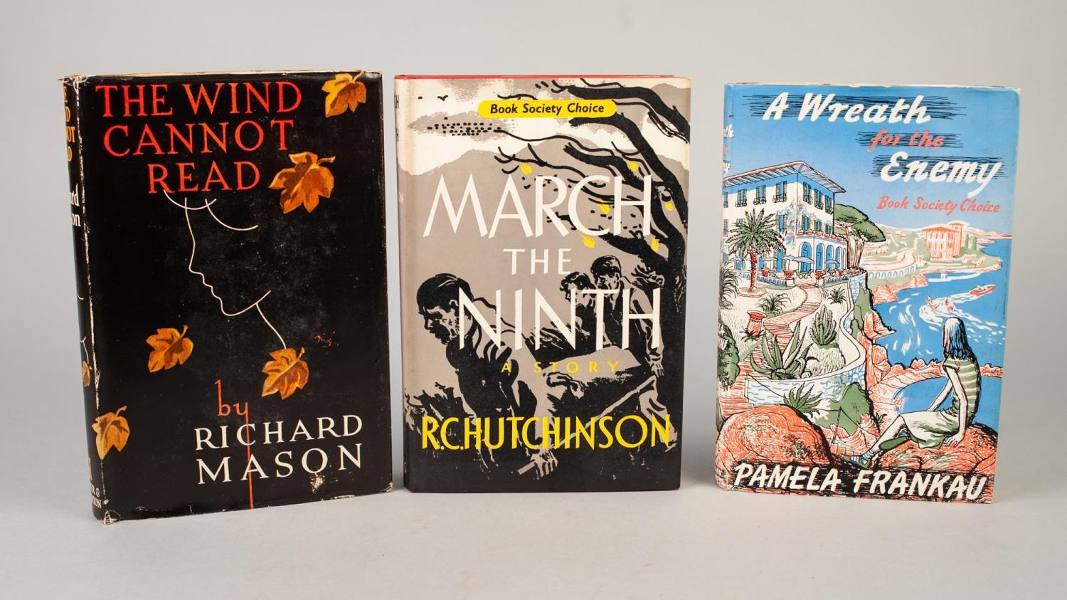 SIGNED TITLES: RICHARD MASON, The Wind Cannot Read, 1947, with dust jacket; E C LARGE, Sugar in - Image 3 of 18