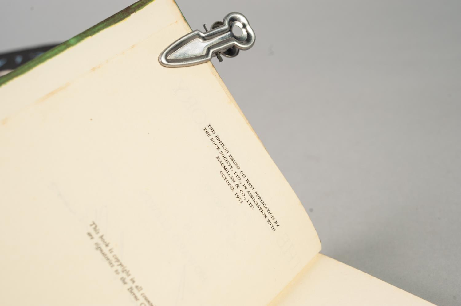 SIGNED TITLES: RICHARD MASON, The Wind Cannot Read, 1947, with dust jacket; E C LARGE, Sugar in - Image 16 of 18