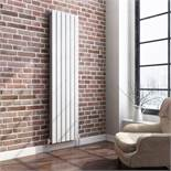 PALLET TO CONTAIN 6 X 1800x360mm Gloss White Single Flat Panel Vertical Radiator. RRP £309.99.We