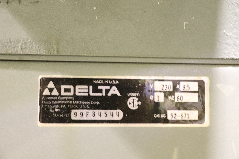 "Lot 160 - Delta DJ20 long bed 8"" wood jointer, serial 99F84544"