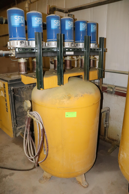 Lot 191 - Kaeser model KRD125 refrigerated air dryer