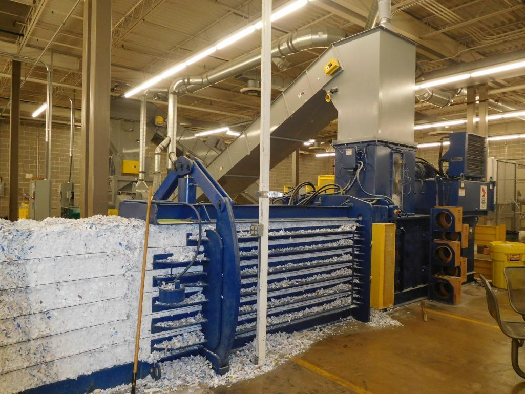 Lot 1 - Ameri-Shred Dual Shredder System, S/N 199070.00 (2015, 2073 hours indicated) including: Pierce & Tea