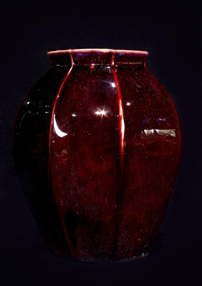 Lot 4047 - Japanese Shinsa Vase