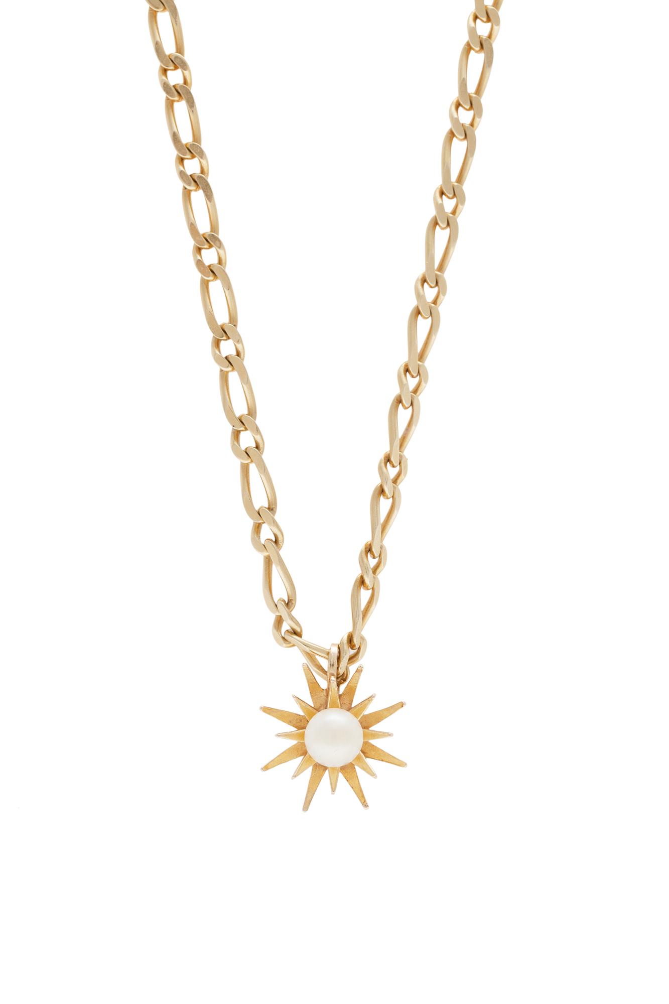 An 18 carat gold and cultured pearl pendant the star shaped pendant lot 15 an 18 carat gold and cultured pearl pendant the star shaped pendant mozeypictures Choice Image