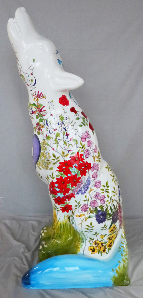 Lot 38 - Garden Artist: Claire Rollerson Claire's inspiration came from the gardens and fountains in and