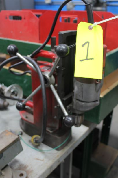 Milwaukee Portable Magnetic Base Drill - Image 2 of 2