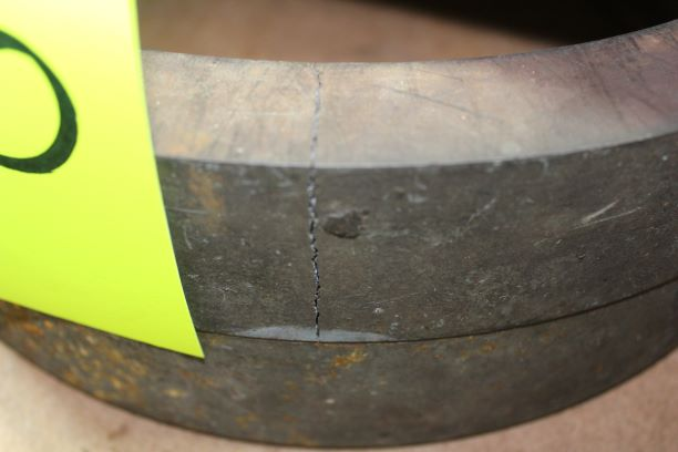 """Lot of 2) 2"""" Column Risers, (Note - 1 Piece Cracked) - Image 2 of 2"""