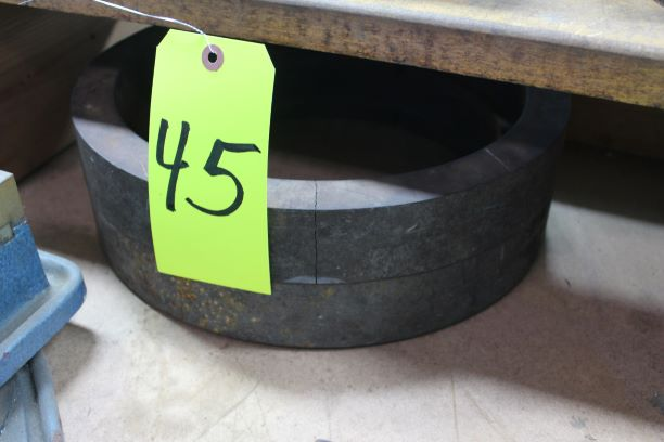"""Lot of 2) 2"""" Column Risers, (Note - 1 Piece Cracked)"""