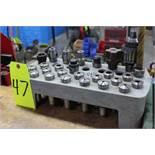 R8 Taper Toolholders w/ Rack