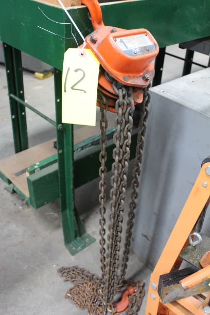 Duff Lynx 1 Ton Chain Fall