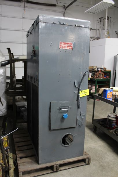 Air-Rester Type AR-44Y Dust Collector, S/N 56050, Model SPL, 5-Hp