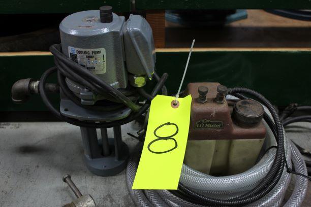 Electric Coolant Pump & Pneumatic Mister