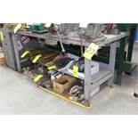 6' Steel Workbench, No Contents