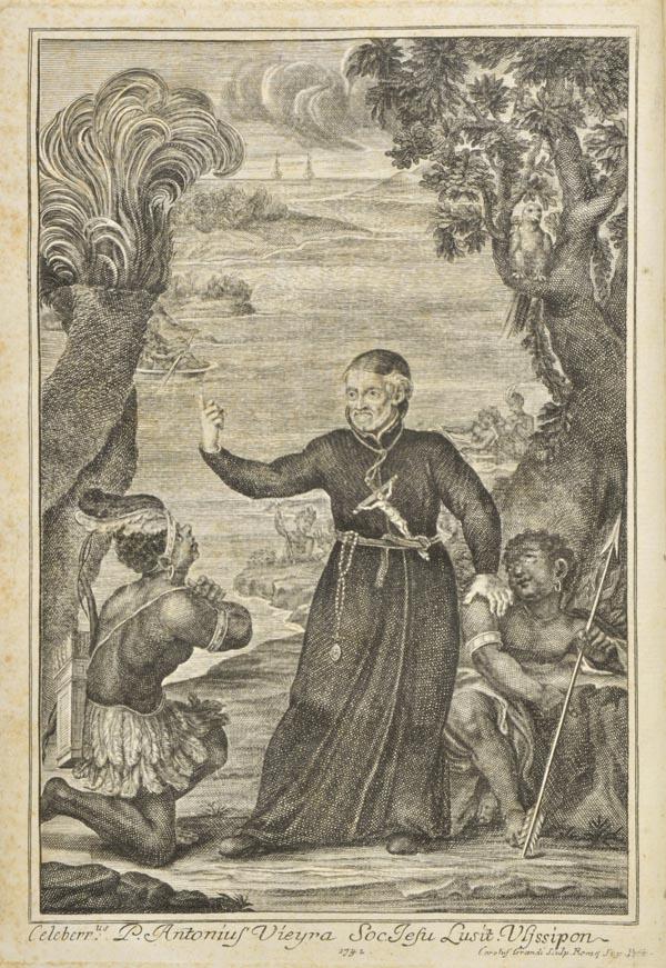 Lot 5 - Barros (Andre de). Vida do Apostolico Padre Antonio Vieyra da Companhia de Jesus, chamado por