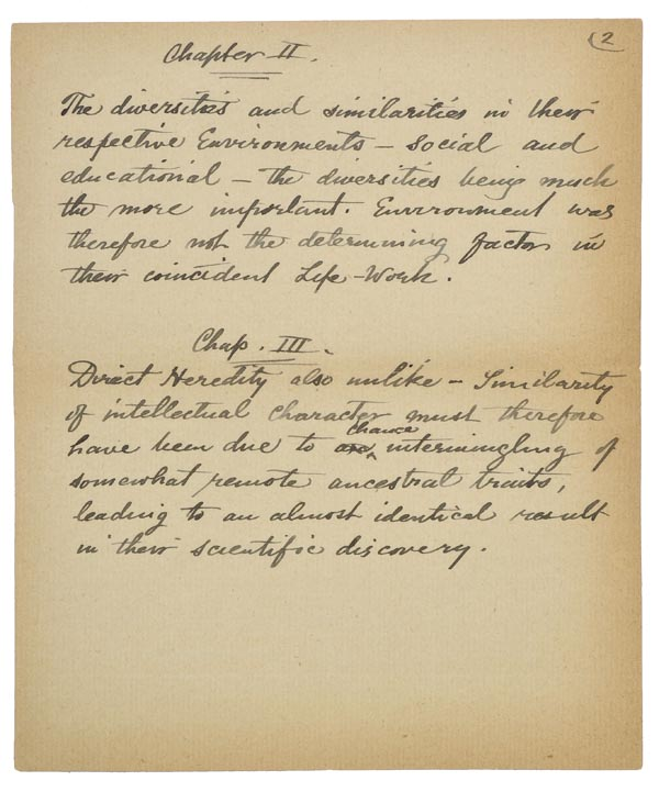 *Wallace (Alfred Russel, 1823-1913). 'Notes for the use of Mr. James Marchant as to his proposed - Image 4 of 6