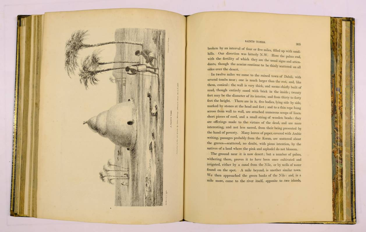 Lot 56 - Waddington (George and Hanbury, Rev. Barnard). Journal of a Visit to Some Parts of Ethiopia, 1st