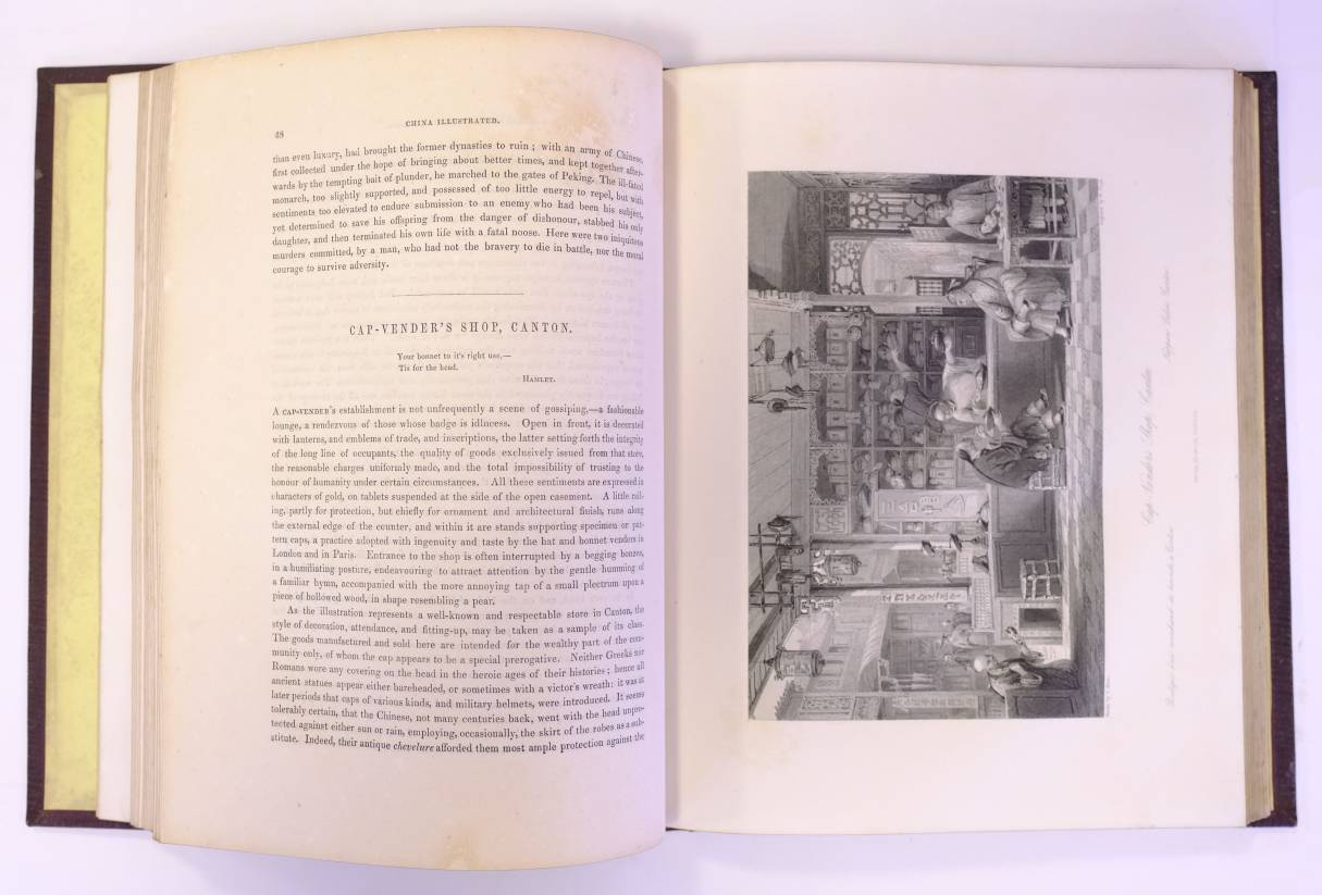 Lot 59 - Wright (George Newenham). China, in a series of views, displaying the scenery, architecture, and
