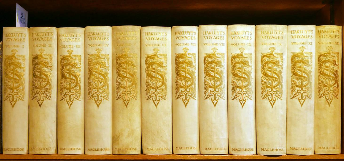 Lot 25 - Hakluyt (Richard). The Principal Navigations Voyages Traffiques & Discoveries of the English