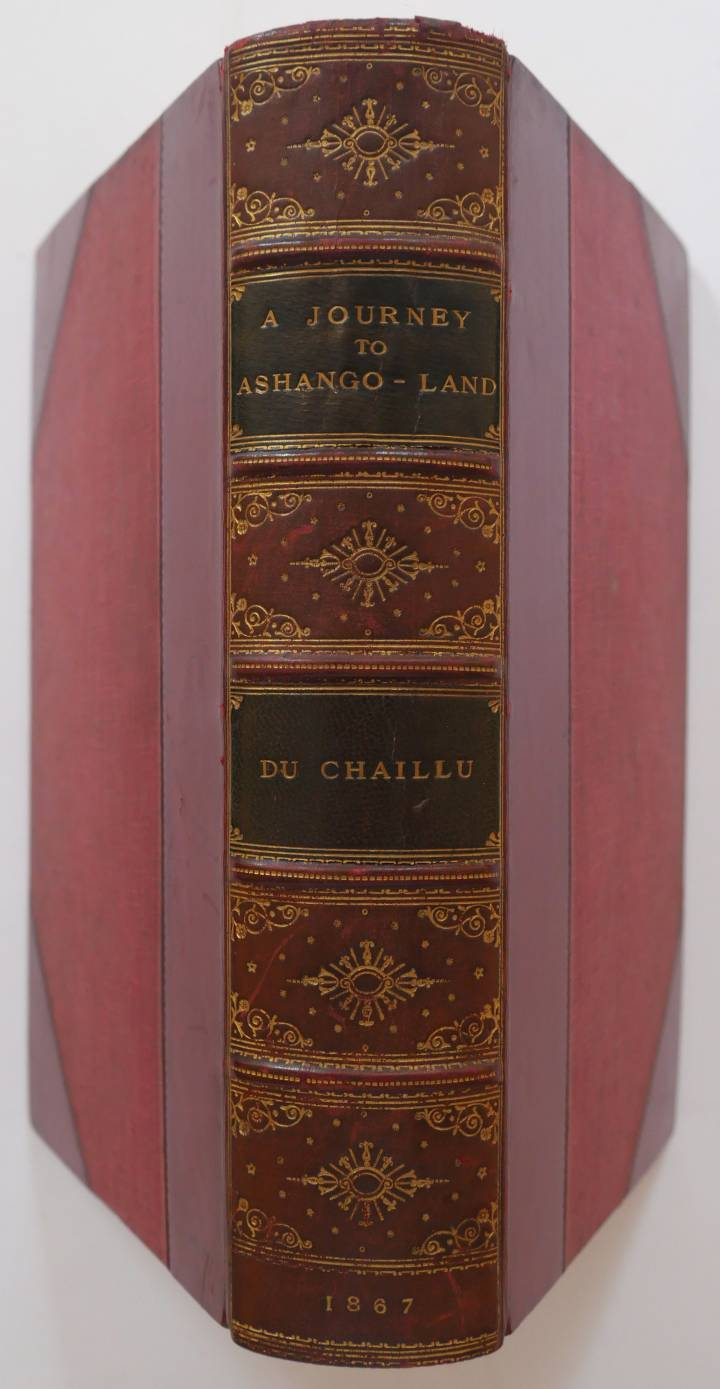 Lot 18 - Du Chaillu (Paul B.). A Journey to Ashango-Land: and further penetration into Equatorial Africa, 1st