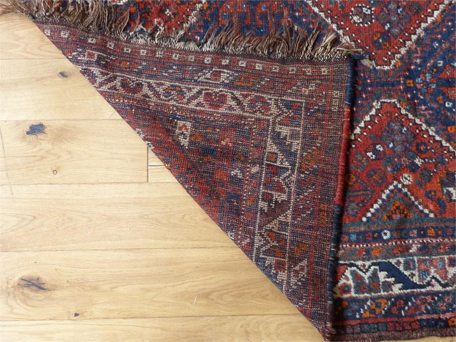 Lot 19 - An antique Moroccan 'Casablanca' rug