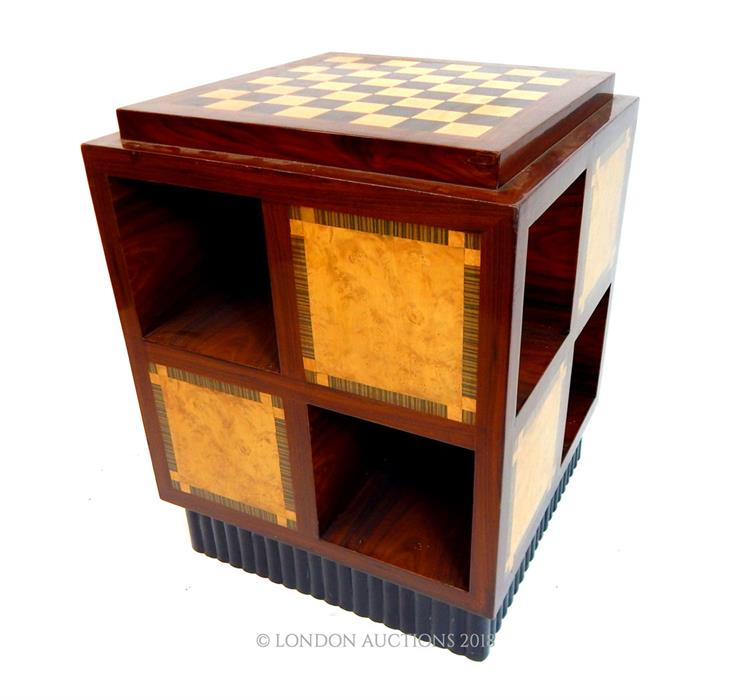 Lot 32 - An Art Deco style games table