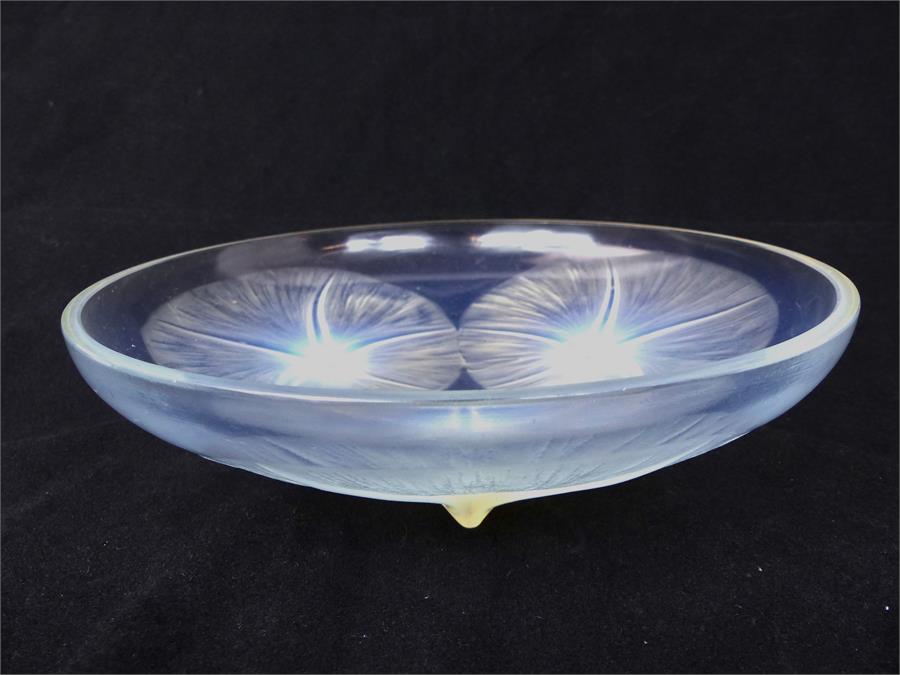 Lot 45 - A Rene Lalique, French, glass, Art Deco 'Volubilis' bowl
