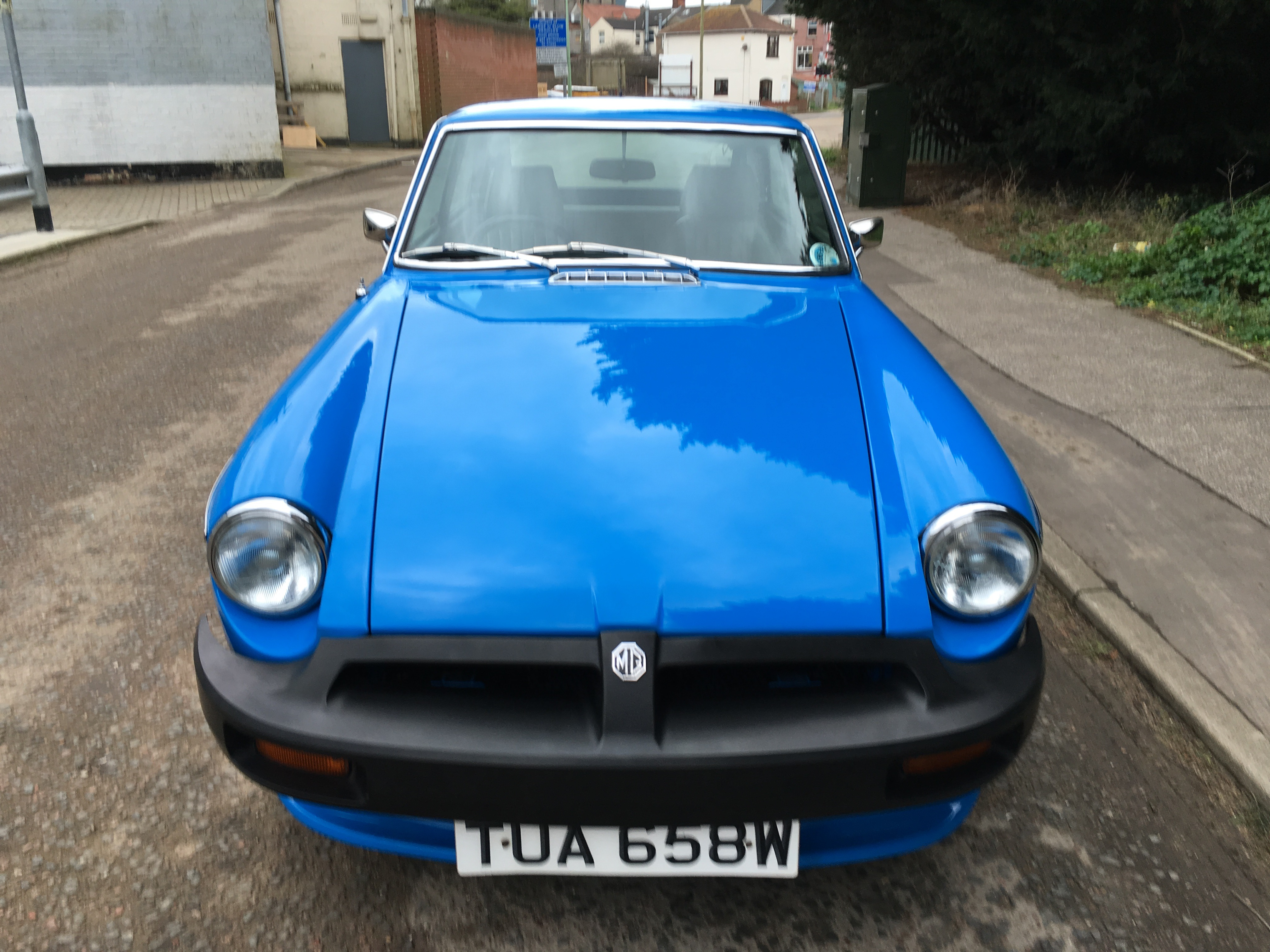 1981 Mg Bgt This 1981 Mg Bgt Has Been The Subject Of Years