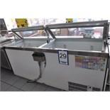 2-door ice cream fridge, 90'', c/w integrated compressor / Réfrigérateur…..