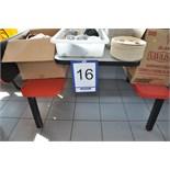Table-bench combo / Table de 4' en fini stratifié avec banc attaché