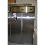 2-door COLDSTREAM fridge, mod: RSCP48RL, ns:92J4148 / réfrigerateur 2-portes
