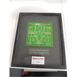 "Lot 60 - Framed & Glazed Presentation of ""Test Circuit Board Number Two"" Second PCB Produced on the SKODA"