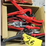ASSORTED RIDGID CUTTERS & MISCELLANEOUS