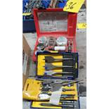 ASSORTED MILWAUKEE HOLE SAWS & IRWAN SPADE DRILLS