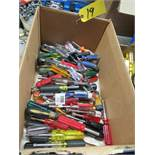 BOX OF ASSORTED SOCKET HANDLES