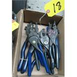 ASSORTED HEY-CO CRIMPERS