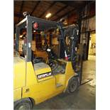 "CATERPILLAR (2006) GC40K1 LPG FORKLIFT WITH 8000 LB. CAPACITY, 120"" MAX. LIFT HEIGHT, SIDE SHIFT,"