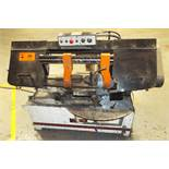 "JET HORIZONTAL METAL-CUTTING BAND SAW WITH 16"" X 10"" CAPACITY, S/N: N/A"