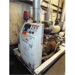GARDNER-DENVER (2000) ELECTRA-SAVER II 75 HP SKID MOUNTED ROTARY SCREW AIR COMPRESSOR WITH 16,304