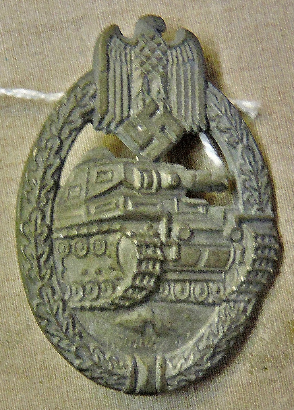 Lot 335 - German WWII Panzer Assault Badge, Silver Grade. See T&C's
