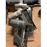 LOT OF 3 PNEUMATIC NAIL GUNS