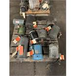 LOT OF (10) ELECTRIC MOTORS BRANDS INCLUDING; BALDOR DAYTON WESTINGHOUSE CENTURY (2 HP- 3HP)