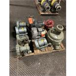 LOT OF (9) ELECTRIC PUMPS (VARIOUS SIZES) BRANDS: RIETSCHLE GAST