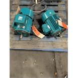 (2) BROOKS 5HP ELECTRIC MOTORS