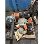 LOT OF (4) ELECTRIC PUMPS (RIETSCHLE AND FRANKLIN)