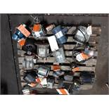LOT OF (16) ELECTRIC MOTORS BRANDS INCLUDING; GE LEESON DAYTON MARATHON WEG BALDOR MISC. (1/2 HP-1.5