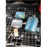 LOT OF (3) ELECTRIC MOTORS INCLUDING; (1) DAYTON 1/2HP AND (2) UNKNOWN