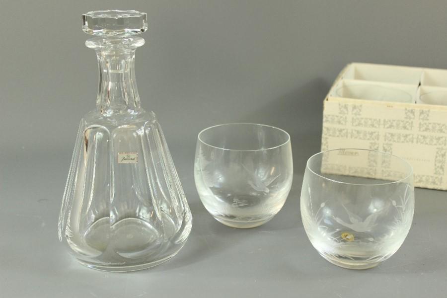 A Glass Decanter