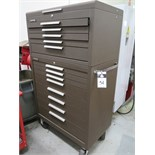 Kennedy 8-Drawer Roll-A-Way and 5-Drawer Top Box