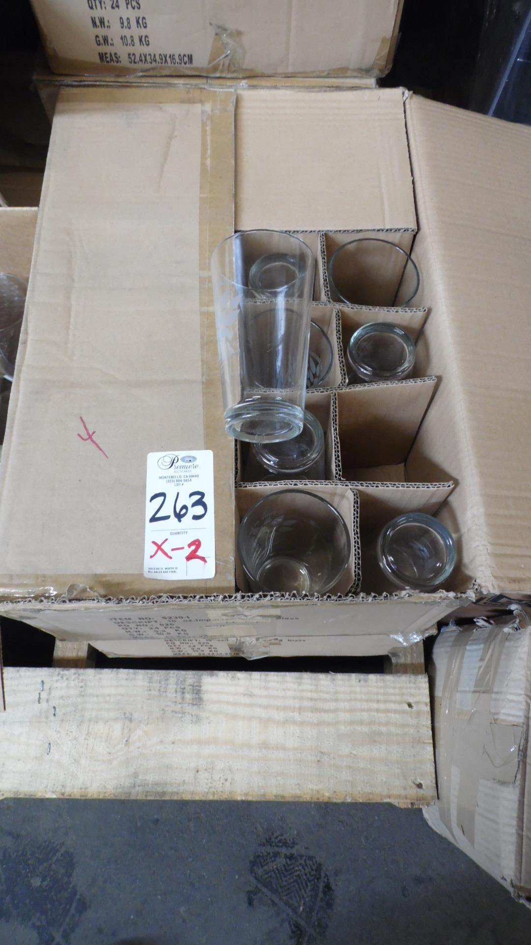 Lot 263 - TASTE OF ENCINO GLASSES